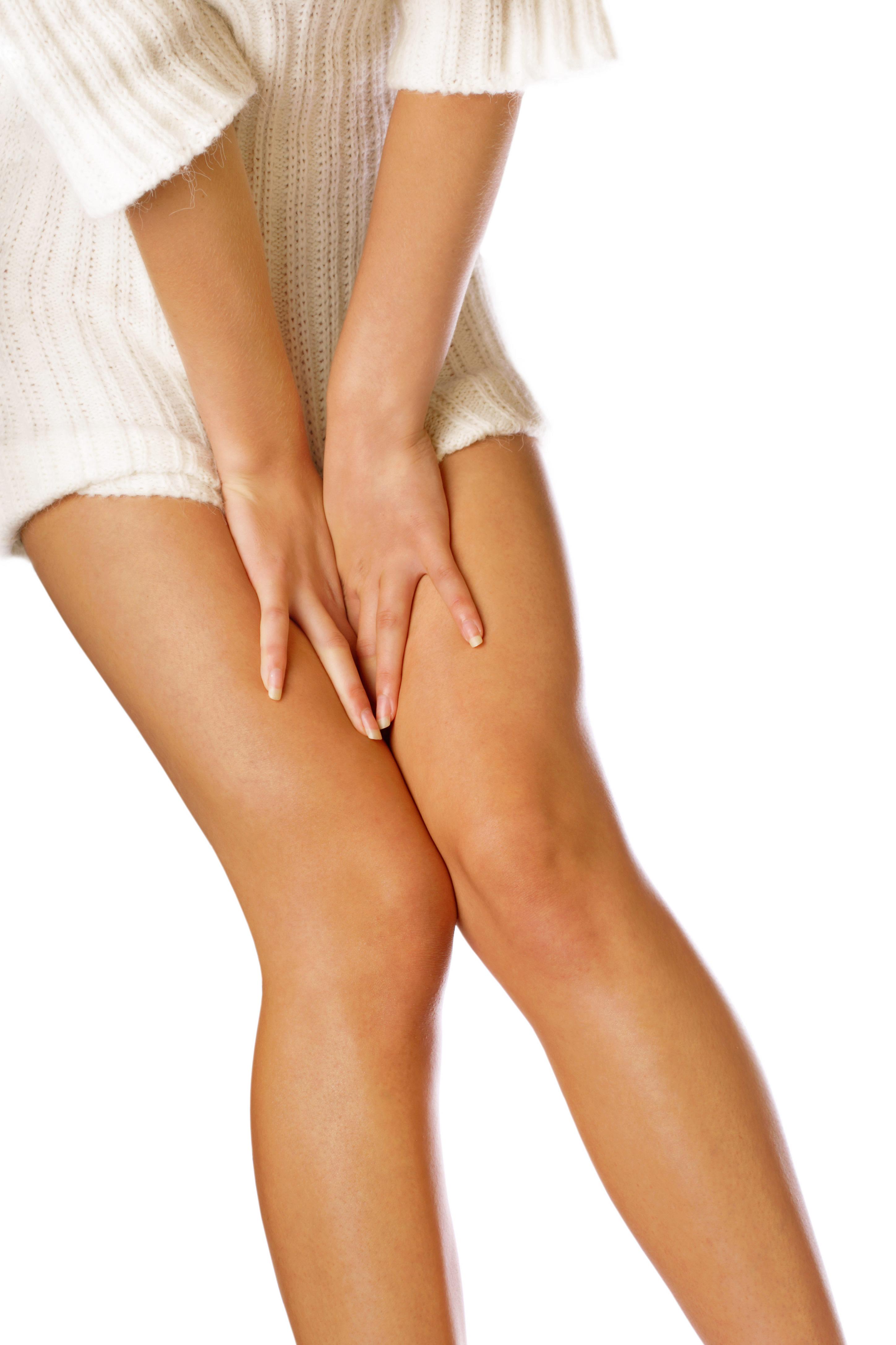 Tratamiento de belleza en piernas