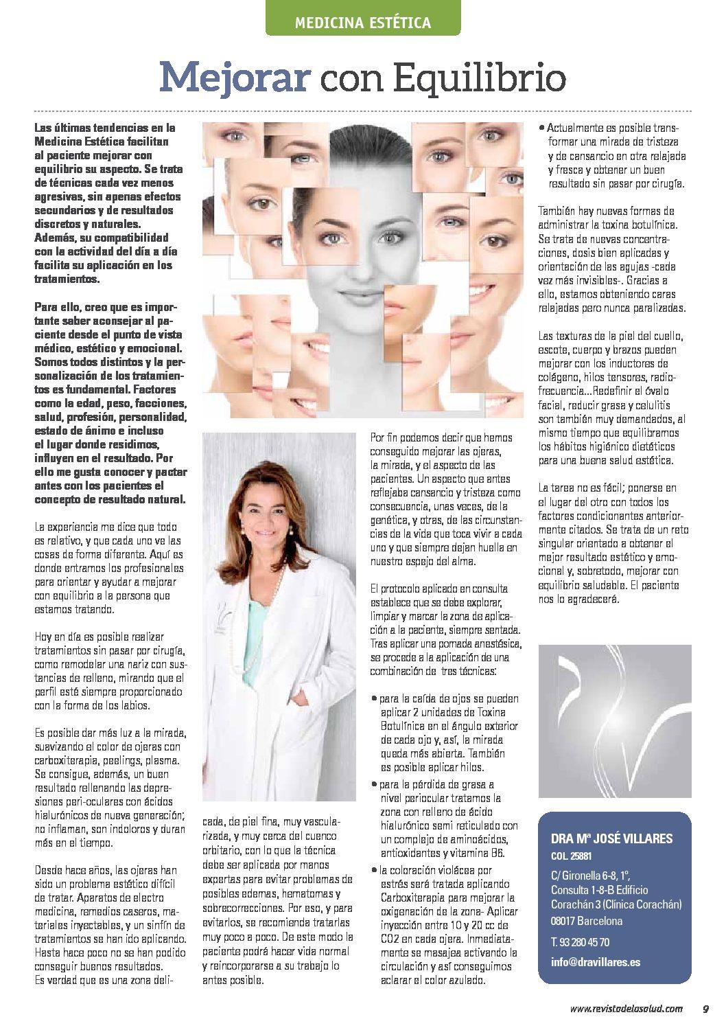 Articulo Dra Villares Revista de la Salud 2.0   2º Trimestre 2019