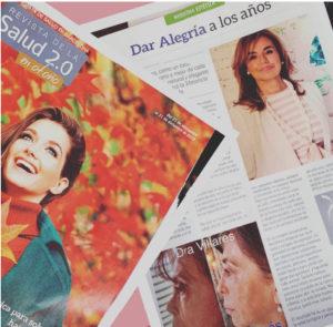 Dar Alegría a los Años : Artículo en Revista de la Salud:  Septiembre  2019