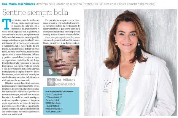 Potenciar Tu Belleza.  La Vanguardia 26 de Noviembre 2019